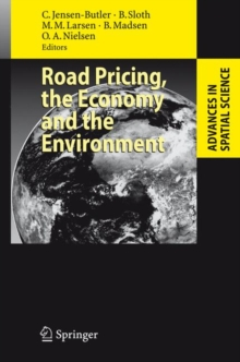 Road Pricing, the Economy and the Environment, Hardback Book
