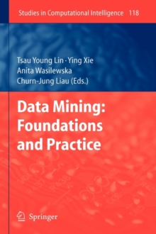 Data Mining: Foundations and Practice, Hardback Book