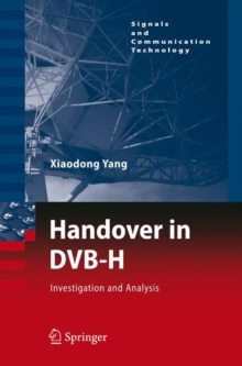 Handover in DVB-H : Investigations and Analysis, Hardback Book