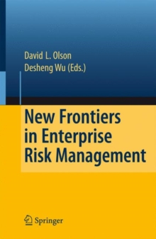 New Frontiers in Enterprise Risk Management, Paperback / softback Book