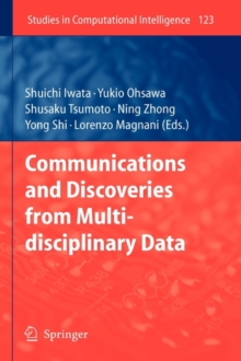 Communications and Discoveries from Multidisciplinary Data, Hardback Book