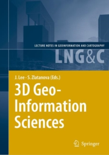 3D Geo-information Sciences, Hardback Book