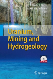 Uranium, Mining and Hydrogeology, Mixed media product Book