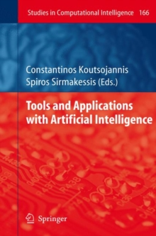 Tools and Applications with Artificial Intelligence, Hardback Book