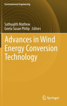 Advances in Wind Energy Conversion Technology, Hardback Book