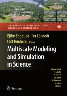 Multiscale Modeling and Simulation in Science, Paperback / softback Book