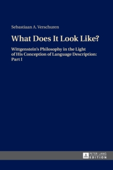 What Does It Look Like? : Wittgenstein's Philosophy in the Light of His Conception of Language Description: Part I, Hardback Book