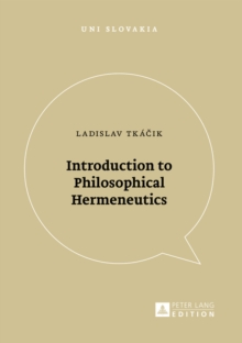 Introduction to Philosophical Hermeneutics, Paperback / softback Book