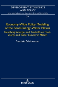 Economy-Wide Policy Modeling of the Food-Energy-Water Nexus : Identifying Synergies and Tradeoffs on Food, Energy, and Water Security in Malawi, Hardback Book