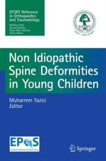 Non-Idiopathic Spine Deformities in Young Children, Paperback Book
