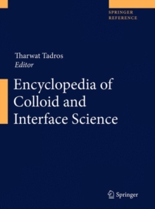 Encyclopedia of Colloid and Interface Science, Hardback Book