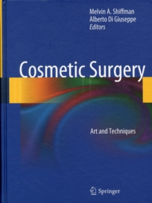 Cosmetic Surgery : Art and Techniques, Hardback Book