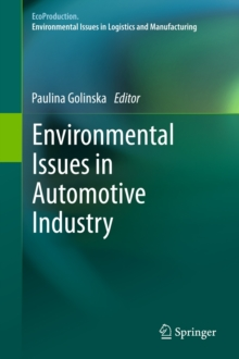 Environmental Issues in Automotive Industry, Hardback Book