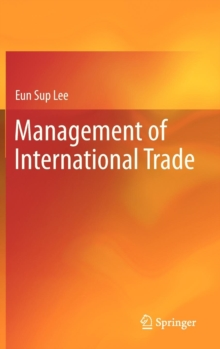 Management of International Trade, Hardback Book