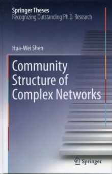 Community Structure of Complex Networks, Hardback Book