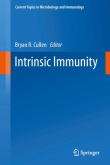 Intrinsic Immunity, Hardback Book
