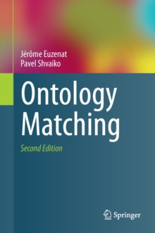 Ontology Matching, Hardback Book