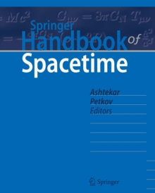 Springer Handbook of Spacetime, Hardback Book