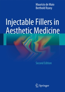 Injectable Fillers in Aesthetic Medicine, Hardback Book