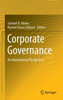 Corporate Governance : An International Perspective, Hardback Book