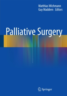 Palliative Surgery, Hardback Book