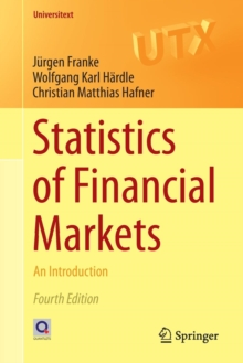 Statistics of Financial Markets : An Introduction, Paperback / softback Book