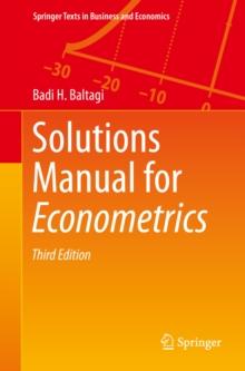 Badi H Baltagi Econometrics Pdf