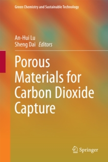 Porous Materials for Carbon Dioxide Capture, Hardback Book