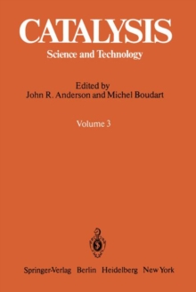 Catalysis : Science and Technology, Paperback / softback Book