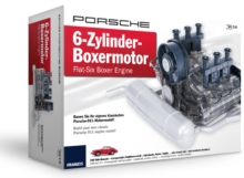 PORSCHE Flat-Six Boxer Engine Model Kit, Kit Book