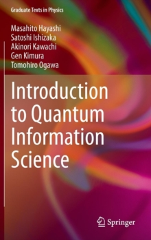 Introduction to Quantum Information Science, Hardback Book