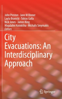 City Evacuations: An Interdisciplinary Approach, Hardback Book
