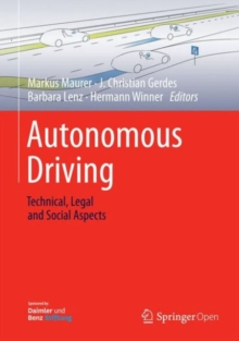 Autonomous Driving : Technical, Legal and Social Aspects, Hardback Book
