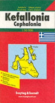 Kefalonia : FB.G045, Sheet map, folded Book