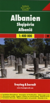 Albania : FB.010, Sheet map, folded Book