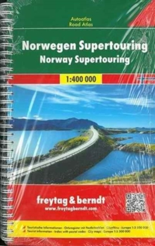 Norway Atlas and Europa : FBA135, Spiral bound Book