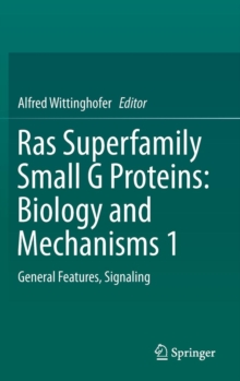 Ras Superfamily Small G Proteins: Biology and Mechanisms 1 : General Features, Signaling, Hardback Book