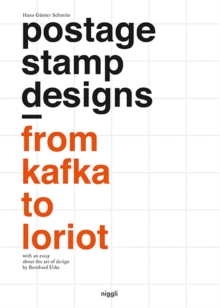 Postage Stamp Designs - from Kafka to Loriot, Hardback Book