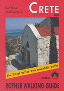 Crete East : The Finest Valley and Mountain Walks - ROTH.E4822, Paperback Book