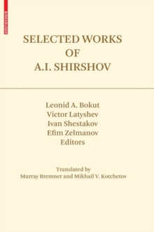 Selected Works of A.I. Shirshov, Hardback Book