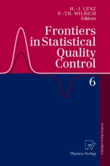 Frontiers in Statistical Quality Control 6, Paperback / softback Book