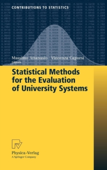Statistical Methods for the Evaluation of University Systems, Hardback Book