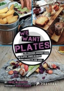 We Want Plates, Hardback Book