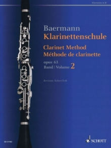 Clarinet Method, Op 63 / Methode De Clarinette Op 63 : Nos 34-62, Paperback / softback Book