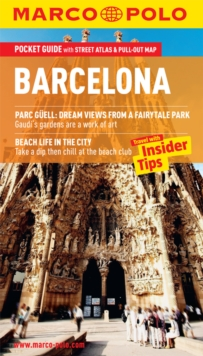 Barcelona Marco Polo Pocket Guide, Paperback Book