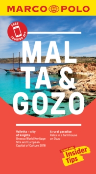 Malta and Gozo Marco Polo Pocket Travel Guide 2018 - with pull out map, Paperback / softback Book