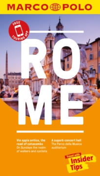 Rome Marco Polo Pocket Travel Guide - with pull out map, Paperback / softback Book