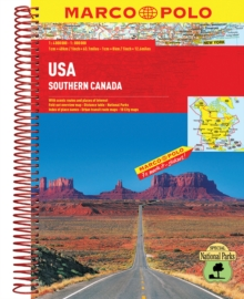 USA Atlas, Spiral bound Book