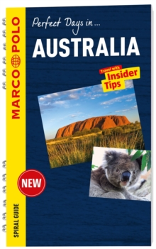 Australia Marco Polo Travel Guide - with pull out map, Spiral bound Book
