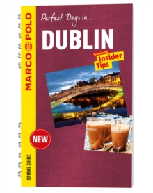 Dublin Marco Polo Travel Guide - with pull out map, Spiral bound Book